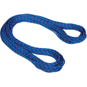 Mammut 7.5 Alpine Sender Dry Corda 50m, dry standard/blue/safety orange